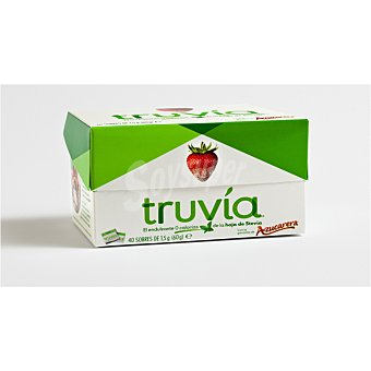 TRUVÍA Edulcorante con stevia TRUVIA 40 sobres 60g