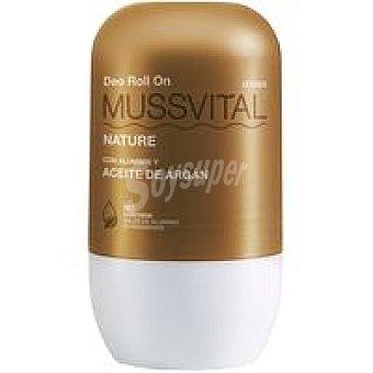 Mussvital Desodorante de argán Pack 2x75 ml