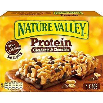 Nature Valley Protein barritas de cacahuete y chocolate Estuche 160 g