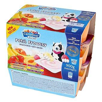 Carrefour Kids Petit sabores Pack de 18x50 g