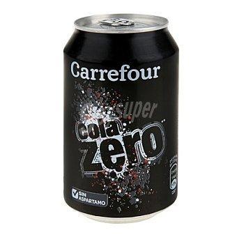 Carrefour Refresco de cola zero 33 cl