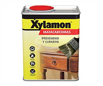 XYLAMON Tratamiento para madera que evita la entrada de la Carcoma en la misma 750 mililitros