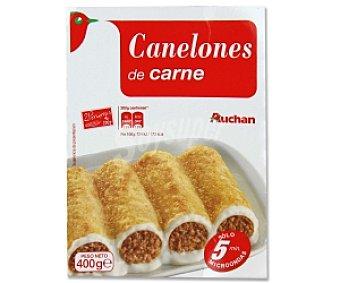 Auchan Canelones de carne 400 gramos