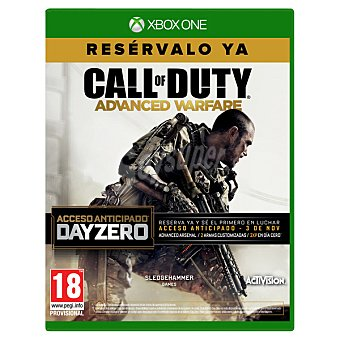 XBOX ONE Videojuego Call Of Duty: Advanced Warfare Edición Day Zero 1 Unidad