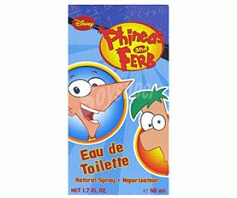 Phineas & Ferb Eau De Toilette 50ml