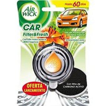 AIR WICK Car Ambientador de coche olor lirio Pack 3