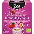 Inmunidad y Salud infusión con equinácea, zumo de acerola deshidratado y naranja ecológica  estuche 12 bolsitas Yogi Tea