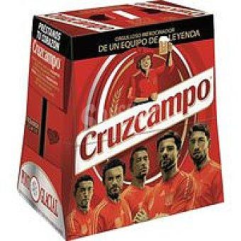 Cruzcampo Cerveza botella 6x25cl