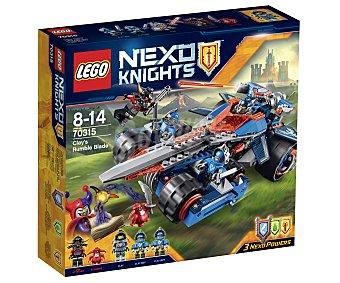 LEGO Juego de construcciones con 367 piezas Espada tronadora de Clay, ref. 70315, incluye 5 figuras Nexo Knights 1 unidad