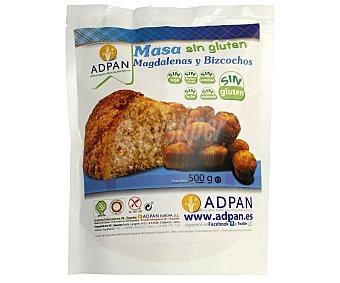 Adpan Masa sin gluten, para magdalenas y bizcochos 500 gr