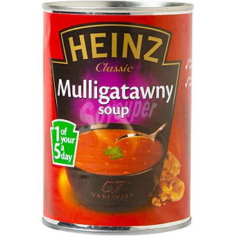 Heinz Sopa de ternera curry Lata 400 g