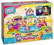 Escenario de juego Pool Party Moji Pops, incluye 2 figuras y accesorios, magicbox  Magicbox