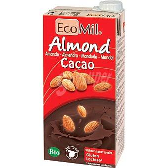 NATURGREEN Ecomil Bebida de almendra sabor cacao ecológica Brik 1 l