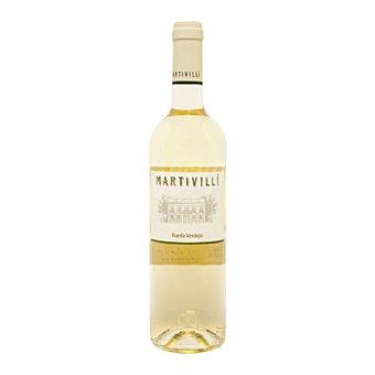 MARTIVILLI Vino D.O. Rueda blanco verdejo Botella de 75 cl
