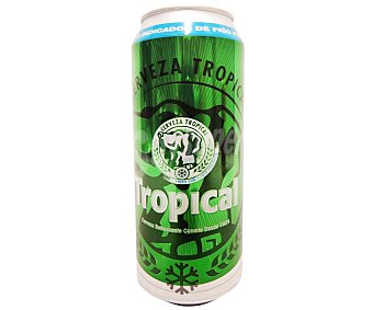 Tropical Cerveza Lata de 50 Centilítros