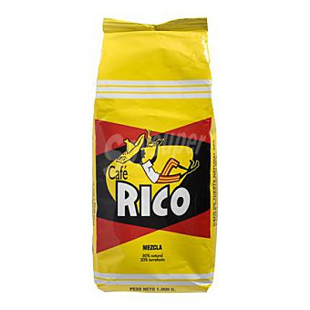 Rico Café grano mezcla superior 1 kg 1 kg