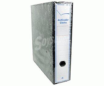 Auchan Archivador con Caja Tamaño Folio 1 Unidad