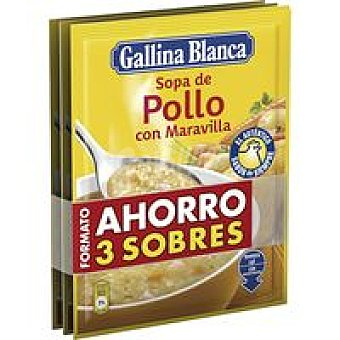 Gallina Blanca Sopa maravilla Pack 3 x 85 g