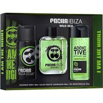 Pacha Ibiza Estuche. wild50+body150