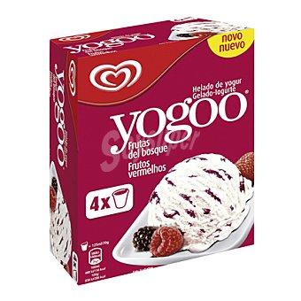 Frigo Helado de yogur con frutas del bosque Yogoo pack de 4x125 ml