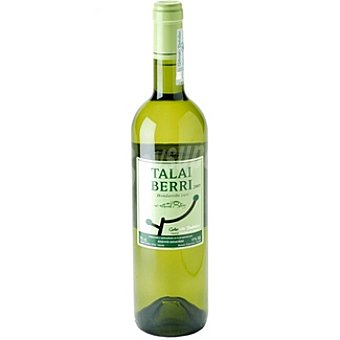 Talai Berri Vino blanco hondarribi zuri D.O. Getariako Txacolina Botella 75 cl