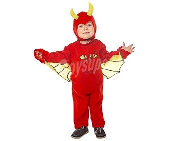 My other me Disfraz de diablo para bebé. Talla: 1-2 años,