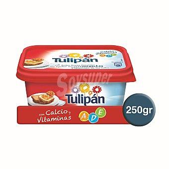 TULIPAN Margarina con leche y vitaminas tarrina 250 g