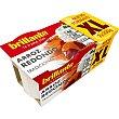 Arroz redondo tradicional cocido formato XL pack 2 envases 200 g Brillante