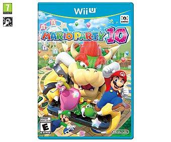 MINIJUEGOS Videojuego Mario Party 10 para Wii U. Género: minijuegos. Recomendación por edad pegi: +7 años 10 wiiu