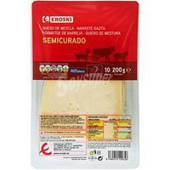 Eroski Queso semi Bandeja 200 g
