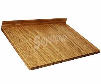 INALSA Tabla de cortar de madera bambú, 45x35x5 centímetros 1 Unidad