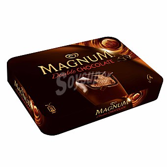 MAGNUM Double Chocolate frigo 4 X 110 ML