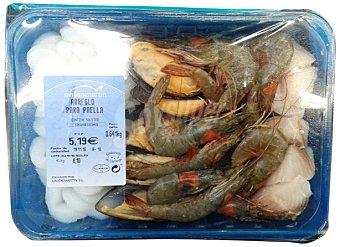 UNION MARTI Arreglo paella marisco fresco Bandeja 800 g peso aprox.