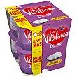 Yogur natural desnatado edulcorado pack 8 unidades 125 g Vitalínea Danone