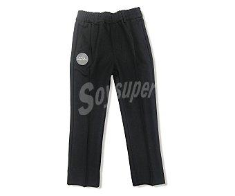 KLOANE Pantalón largo de uniforme de niño, color gris, talla 8