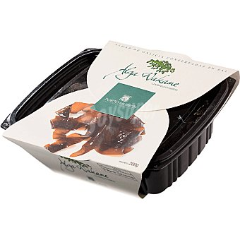 Porto Muiños Algas de Galicia en sal wakame fresco tarrina 200 g Tarrina 200 g