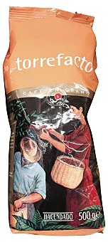 Hacendado Café grano torrefacto Nº5 (fuerte y con carácter) Paquete de 500 g