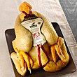Jaune de Las Landas pollo amarillo criado en absoluta libertad peso aproximado 2,2 kg Sertina