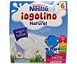 Postre lácteo sabor natural + 6 meses  4 unidades de 100 g Iogolino Nestlé