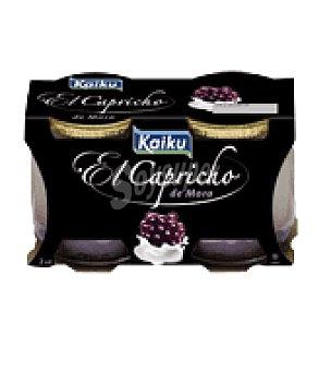 Kaiku Capricho mora gran cocina Pack de 2x125 g