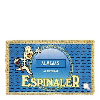 Conservas Espinaler Almejas al natural 65 g