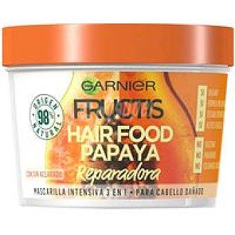 Fructis Garnier Mascarilla cabello dañado papaya Tarro 390 ml