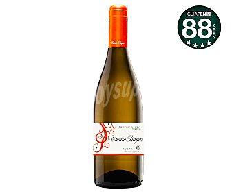 Cuatro Rayas Vino blanco con DO Rueda Botella de 75 cl