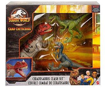 Jurassic world Set de 3 dinosaurios World.