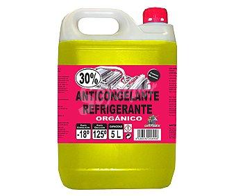 Unycox Líquido anticongelante orgánico, refrigerante, temperatura mínima -18º, UNICOX.
