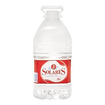 Solares Agua mineral Garrafa 5 litros