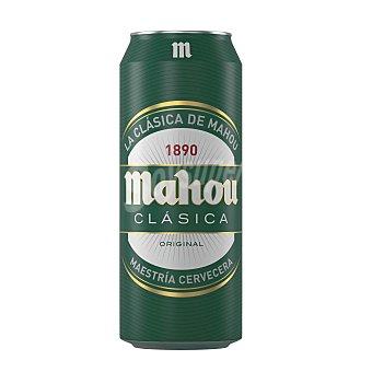 Mahou Cerveza clásica Lata 50 cl