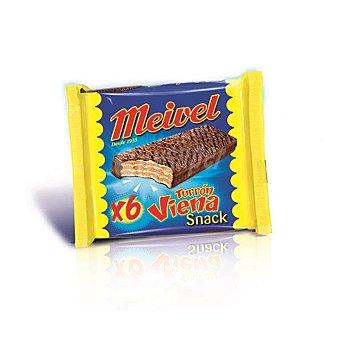 Meivel Chocolatina turrón viena pack 6 unidades - 180 gr