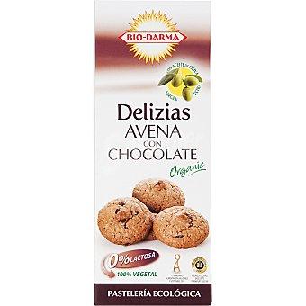 BIO-DARMA Delizias de avena con chocolate ecológicas Paquete 100 g