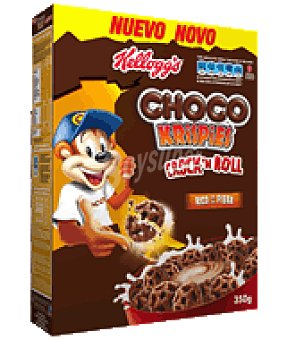 Choco Krispies Kellogg's Crock and Roll: Cereales de trigo integral y maiz chocolateados Choco Krispies 350 g